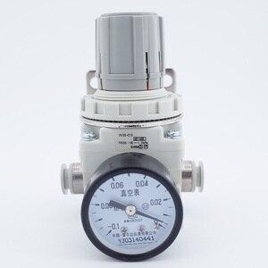 Image 1 - Regulador de vácuo de pressão negativa irv10/20 em linha reta/encaixes de cotovelo com medidor de pressão/regulador de interruptor de pressão digital