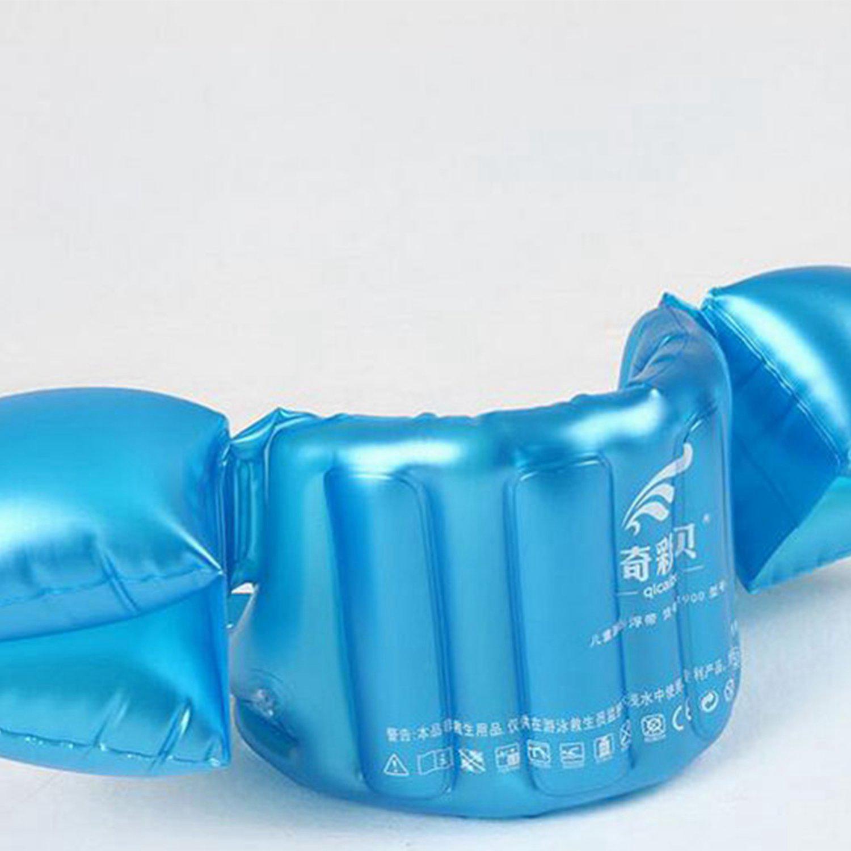 FBIL-Inflatable Swim Vest Arm Float Ring Baby Swimming Circle Ring Infant Float Swim Train