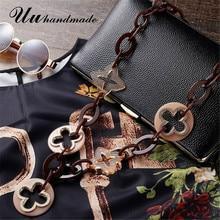 Mode maxi collier colar feminino punk bijoux acrylique collares etnicos longue croix pendentif pour les femmes déclaration collier mujer