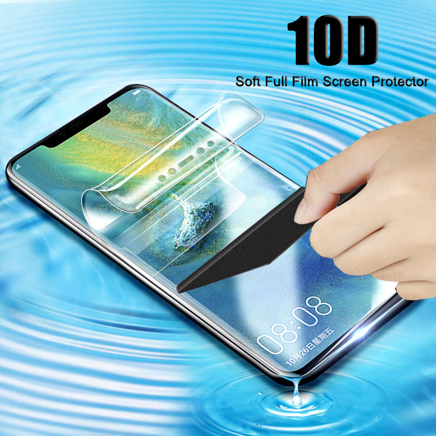 Full Protective Soft Hydrogel Film For Xiaomi MI Max 2 3 Screen Protector Film