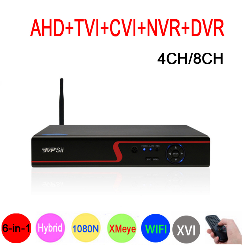 1080 P 2mp CCTV Камера красная панель XMeye Hi3520D 1080N 4CH/8CH 6 в 1 Wi-Fi гибрид коаксиальный XVI NVR CVI TVi AHD DVR Бесплатная доставка