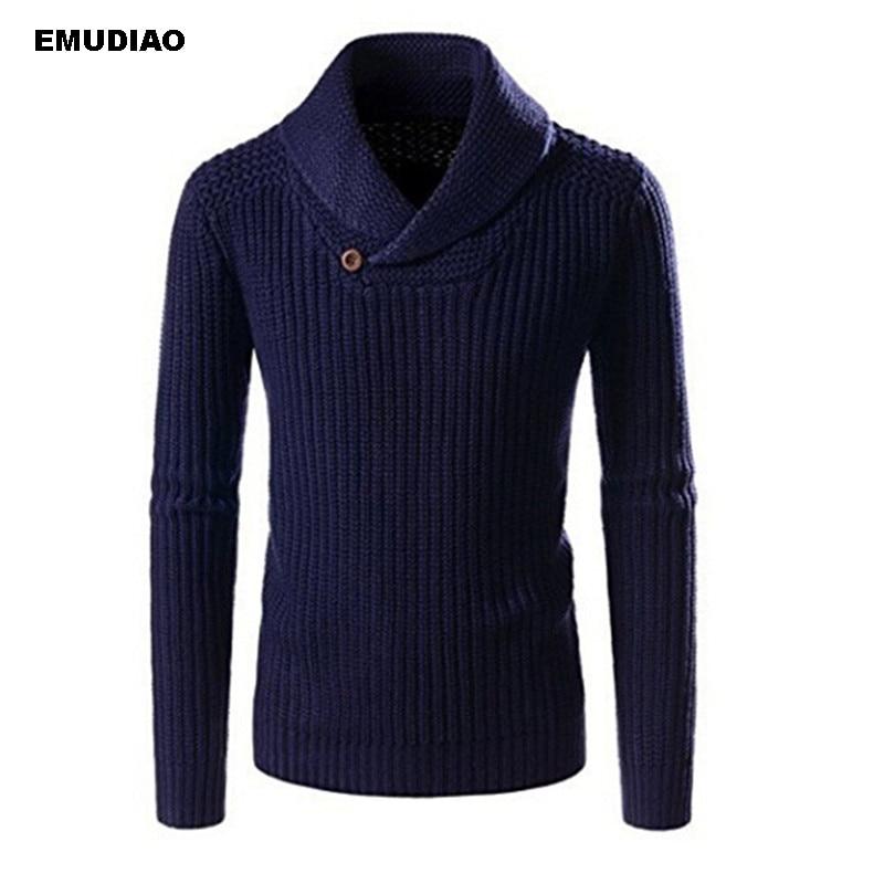 Turtleneck Sweater Men Pullover Coat 2019 New Men Winter Fashion Solid Sweaters Casual Warm Knitting Jumper Sweater Male Coats