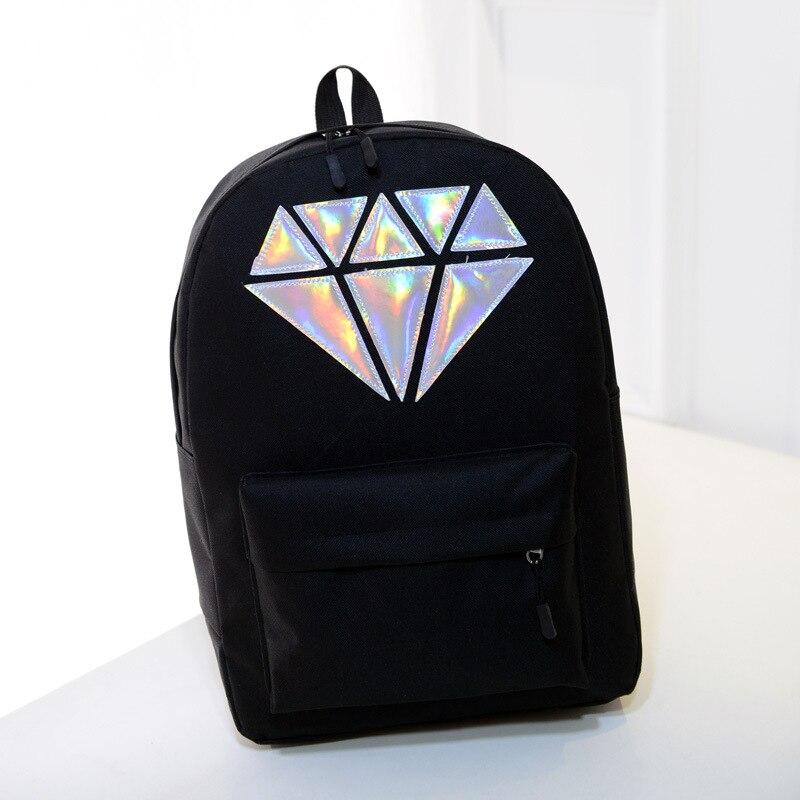 Women's Bags Women Backpacks Women 2019 Women's Fashion Canvas Backpack For Girls Schoolbag For Teenagers Girls School Bag