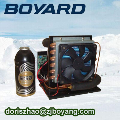 r134a DC 24V small refrigeration units with mini air conditioner compressor for mini portable tent air conditioner in camping made in china boyard 12 24v compressor of portable air conditioner for cars portable freezer portable drink cooler
