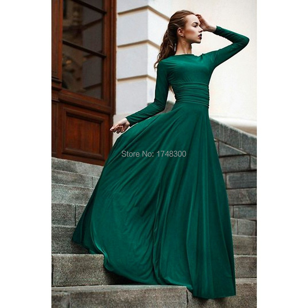 Dark Green Gowns Promotion-Shop for Promotional Dark Green Gowns ...