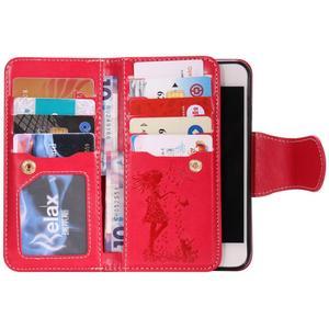 Image 4 - Luxury Leather Wallet Flip Phone Case for iphone 6 s 6s 7 8 Plus 6Plus 7Plus 8Plus X XS 5 5s SE 2020 Cover Makeup Mirror Casing