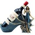 Креативный винодержатель, барная голова лошади, стойка для вина, кронштейн, дисплей, украшение для дома, свадьбы, интерьерные изделия, рожде...