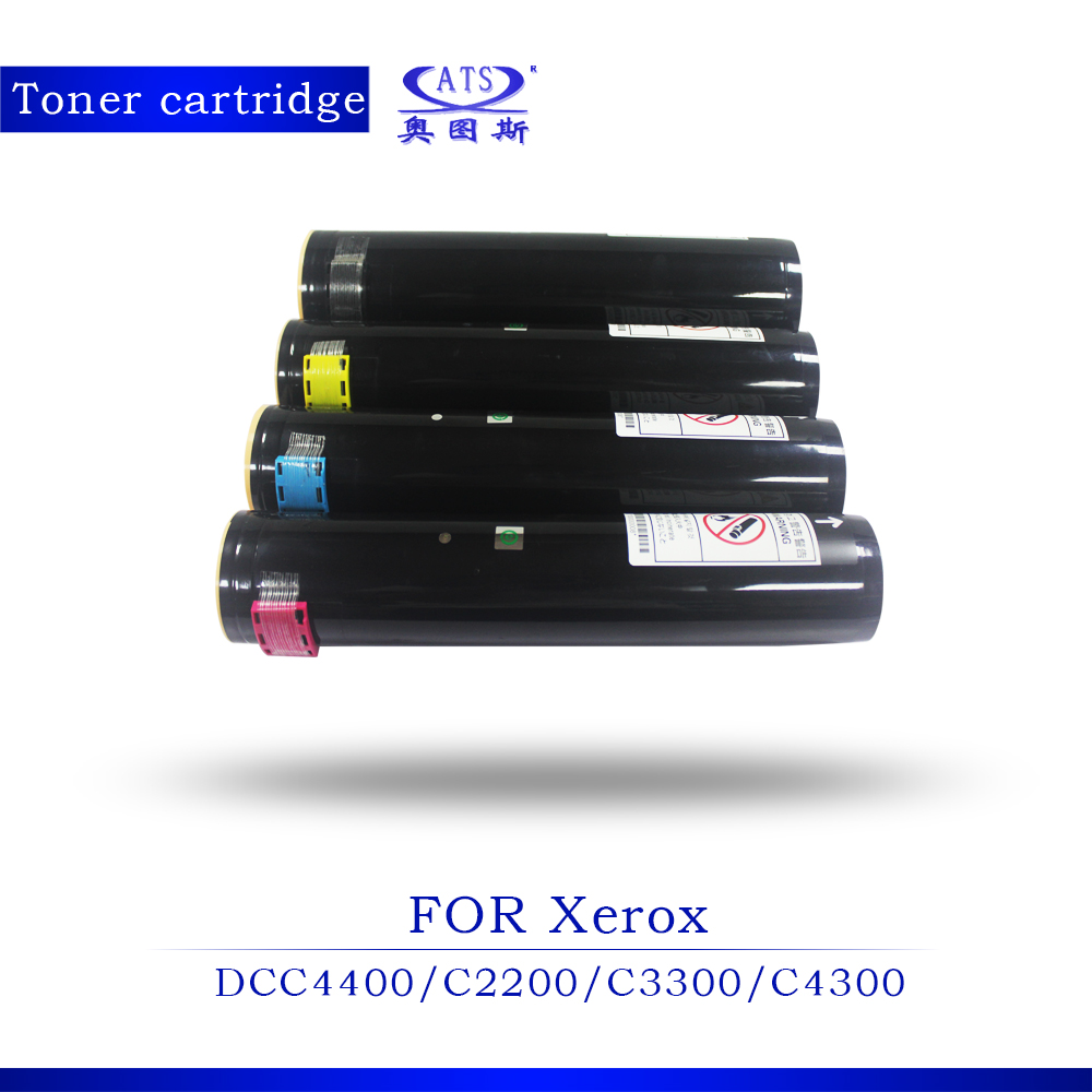 New Copier Spare Parts 1PCS BK460G CMY350G Photocopy Machine Toner Cartridge for DCC4400 2200 3300 4300 7345 Compatible Copier cs rsp3300 toner laser cartridge for ricoh aficio sp3300d sp 3300d 3300 406212 bk 5k pages free shipping by fedex