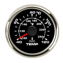 52 мм Автомобильный датчик температуры воды для лодки 40 ~ 120 градусов Цельсия измеритель температуры воды для автомобиля мотоцикла термометр