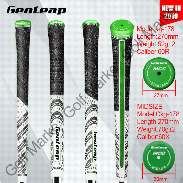 Presale Golf grip club ironwood grip Standard Midsize White Green color NEW in 2019 13pcs lot