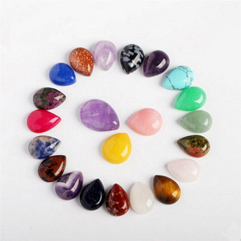 10pcs/set Chakra Pyramid Stone Set Crystal Healing Wicca Natural Spirituality Reiki Generator Healing Gemstones Gift