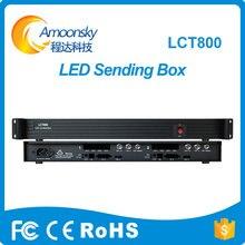 AMS-LCT800 Novastar MSD600 küldő kártya-box videokártya-küldő telepíthet 2 db msd600 küldőt a vezetett bérleti képernyőhöz