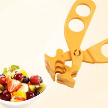 Baby Food Cutting Crushing Grinder Multifunction Food Shear Scissors Crush ins(China)
