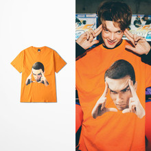 2019 New Summer Lovers Couple Funny Print T-shirts Men Skateboard Hip Hop Dark Souls  T Shirt Tee Homme