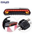 Велосипедный фонарь GIYO  светодиодный задний фонарь для сиденья велосипеда  беспроводной  MTB  с дистансветильник управлением
