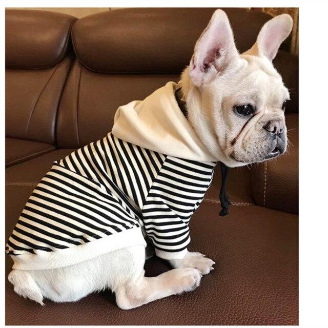 Eyedog Spring Autumn Dog Clothes Chihuahua Poodle Yorkies Bichon Pug French Bulldog Hoo Coat Sweatshirt