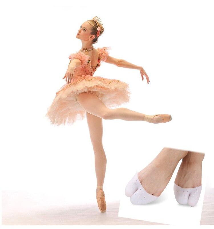 1Pair Profesionalni Balet Cipela Pointe Toe Kap pokriva Visoke - Alat za njegu kože - Foto 3