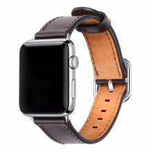 Apple 38mm 42mm Genuine Leather Replacement Wrist Strap
