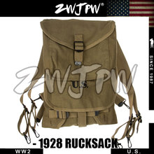 US Type 1928 Backpack-WWII WW2 America Army Military Canvas Bag  US/107104