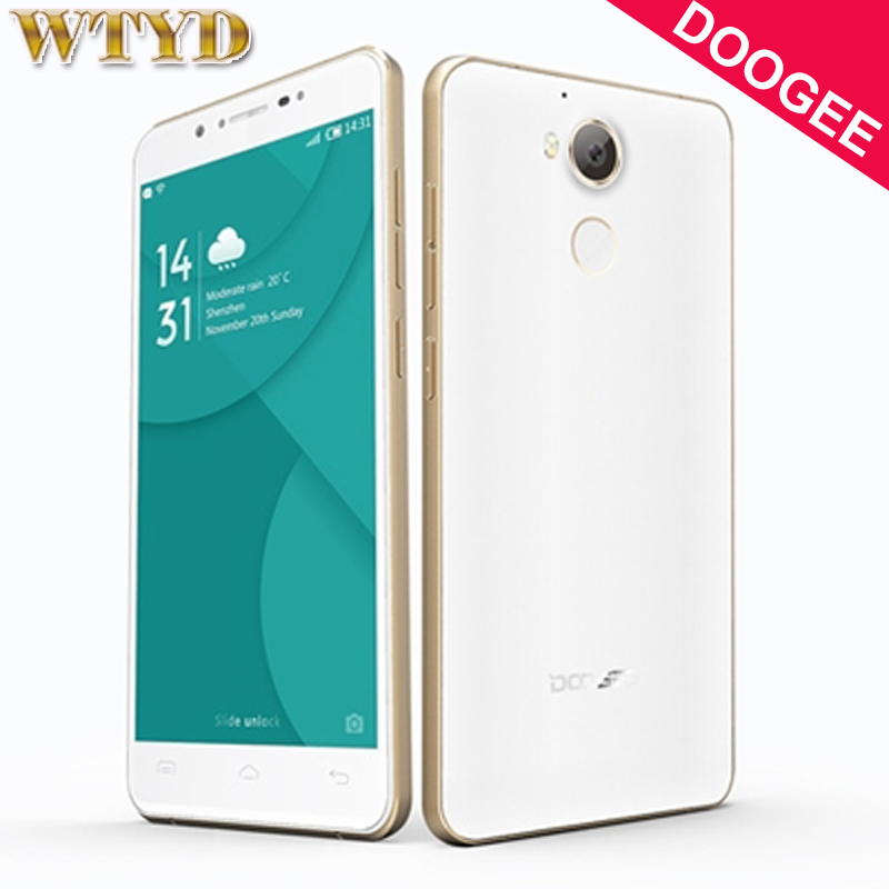 DOOGEE F7 Smart Phone 3GB+32GB Fingerprint Identification 5.5'' Android 6.0 MTK6797 Helio X20 Deca Core Network 4G Cell Phones