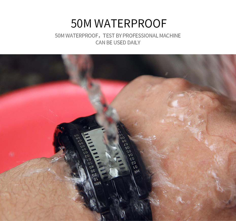 SKMEI Watch Men 2019 Top Creative Men\`s Waterproof Digital Watches Display Lover\`s Male watches relogio masculino (5)