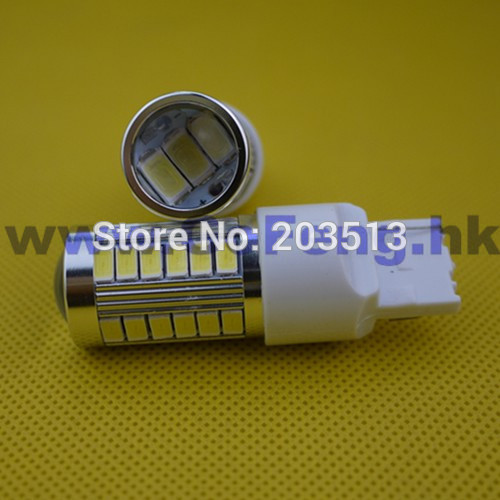 10pcs/lot 2014 new products 12v led car bulb w21w 36 smd 7440 36 leds smd lighting 5630 T20 nice color turn amber Free shipping