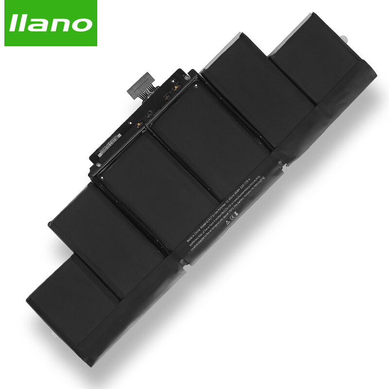 llano A1417 Laptop Battery for APPLE MacBook pro A1398 MC975 MC976 for MacBook Pro 15 in laptop battery 8460mAh for macbook pro стоимость
