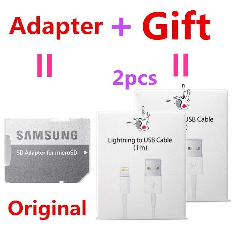 100%Original SAMSUNG Micro SD Card 32GB 64GB 128GB Microsd Memory Cards Flash Drive Tarjeta Micro Sd  Class10 Mini SD Card 128GB
