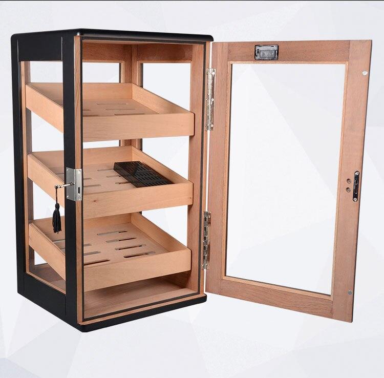 cedro Charuto hidratante caixa de exibição gabinete