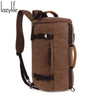 LAZYLIFE Men Female Casual Functional Fanny pack Waist Bag Money Phone Belt pouch belt bag with zipper bags large capacity