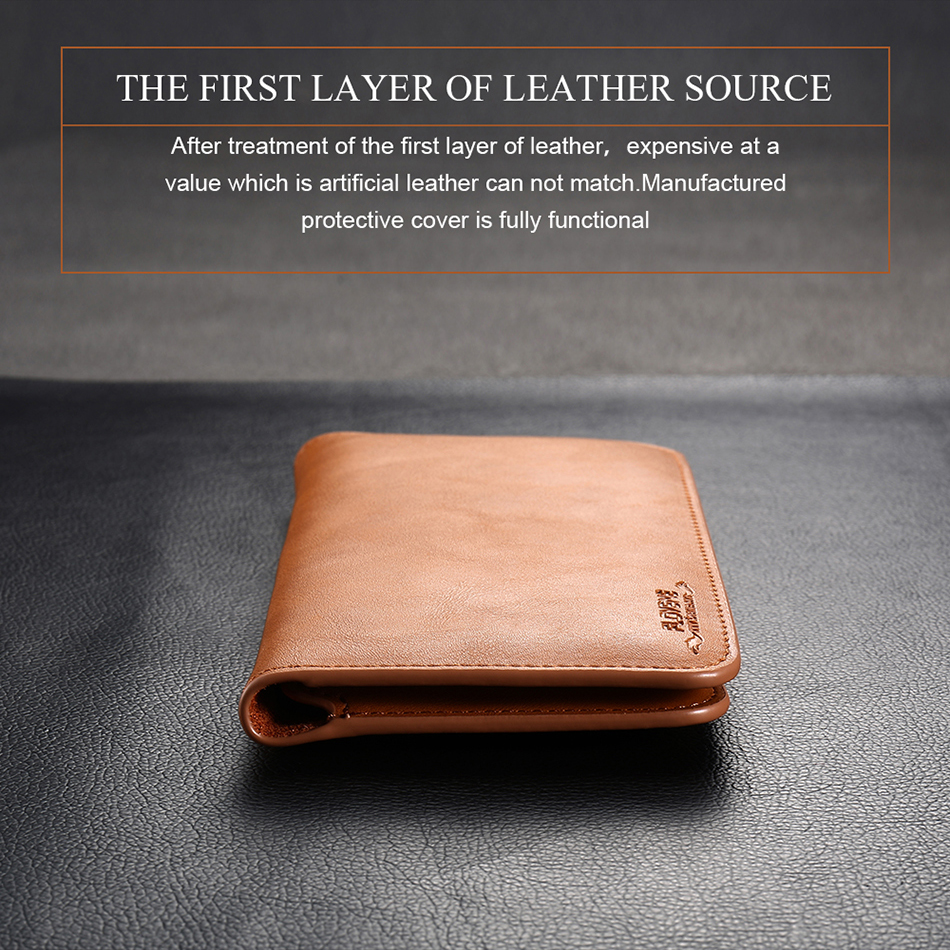FLOVEME Genuine Leather Wallet Case For iPhone 6 6S 7 Plus Cover Multi-function Vintage Luxury Phone Pouch For Samsung S6 S7 (2)