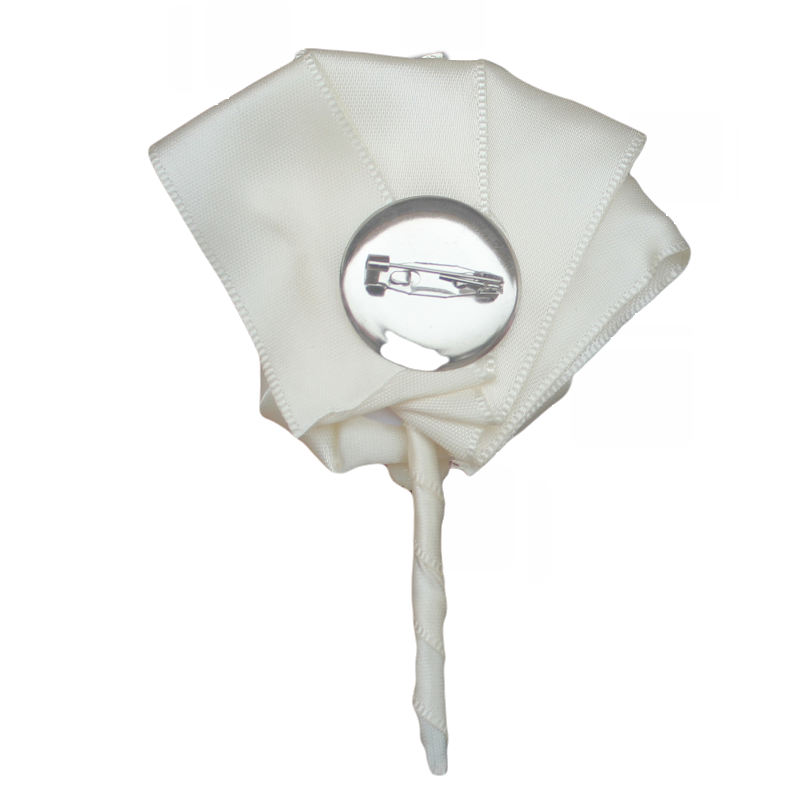 WifeLai-A Handgjorda Pure Color Bouquet Corsage Diamond Rose - Bröllopstillbehör - Foto 2