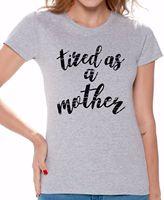 Maman Chemise Grands Cadeaux pour Les Mères Jour Maman Vie T chemise Drôle Ange Grunge Tendance Streetwear Unique Design T-Shirt Top Tee
