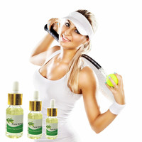1 Bottle Green Tea No diet lose weight body cream,  Dropper slimming essential oil , Green Tea slimming patch Essential Oil