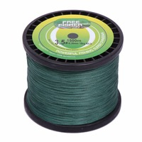 1500M PE Braid Fishing Line 20LB/30LB/40LB/50LB Super Power Hercules Fishing Line Multifilament 4 Strands