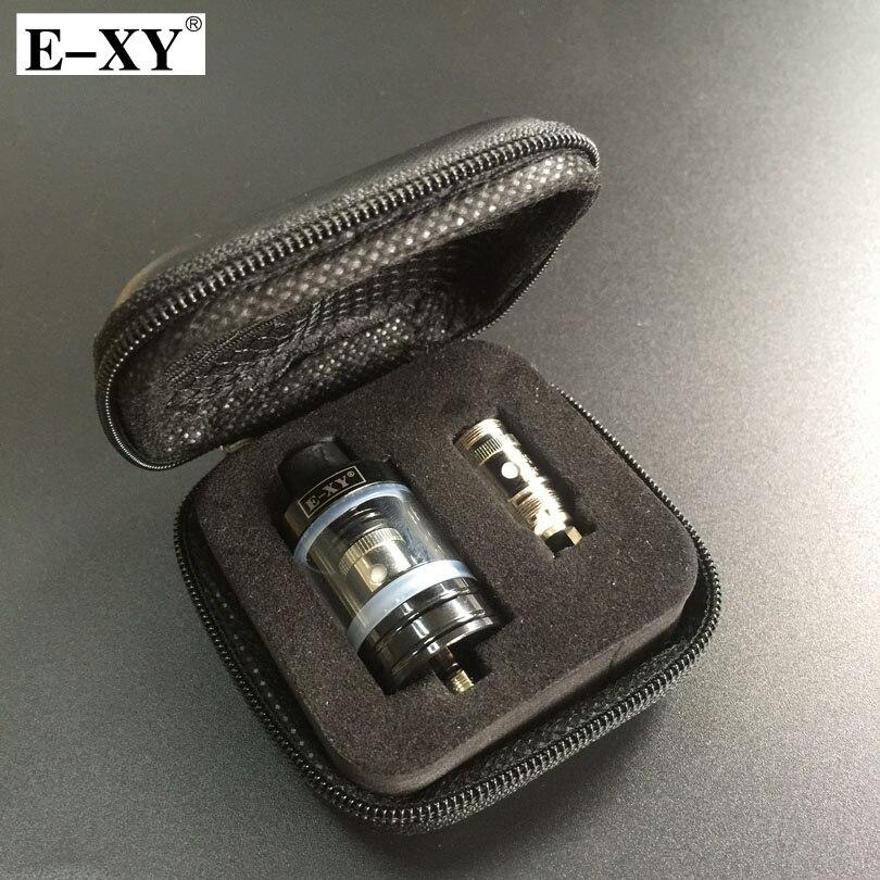 E-XY RBA 22mm Tank Atomizer 0.3 0.5 Ohm Core Coil 2.5ML Capacity 510 Thread For Electronic Cigarettes Vape Mod Box Vaporizer