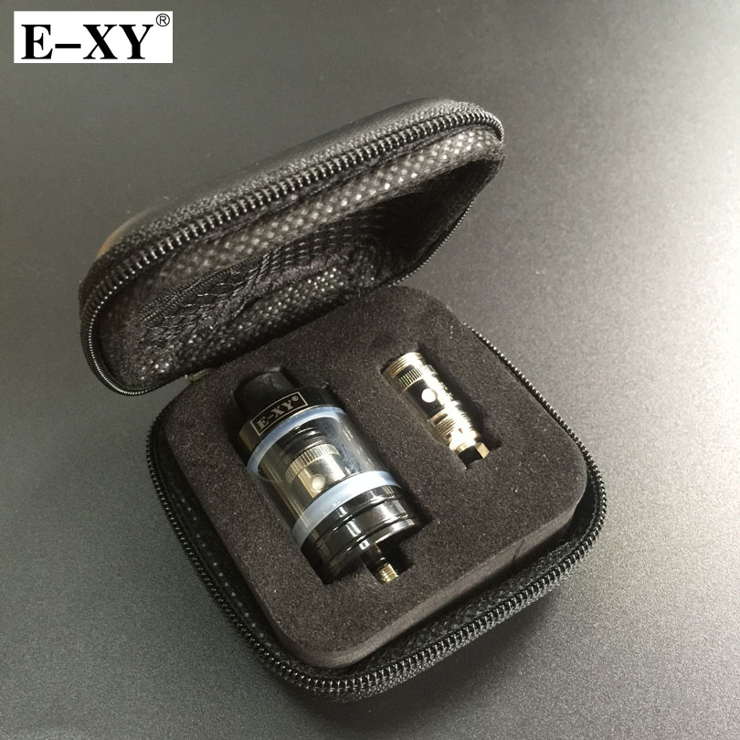 E-XY RBA 22mm Tank Atomizer 0.3 0.5 Ohm Core Coil 2.5ML Capacity 510 Thread For Electronic Cigarettes Vape Mod Box Vaporizer