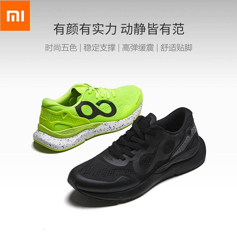 Xiaomi mijia chaussures de course intelligentes TPU soutien haute-élastique amorti baskets chaussures de sport hommes soutien puce intelligente (non inclus)