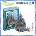 New Model 3D Puzzle Educator 3D puzzle Buliding model Kizhi church Russia DIY model