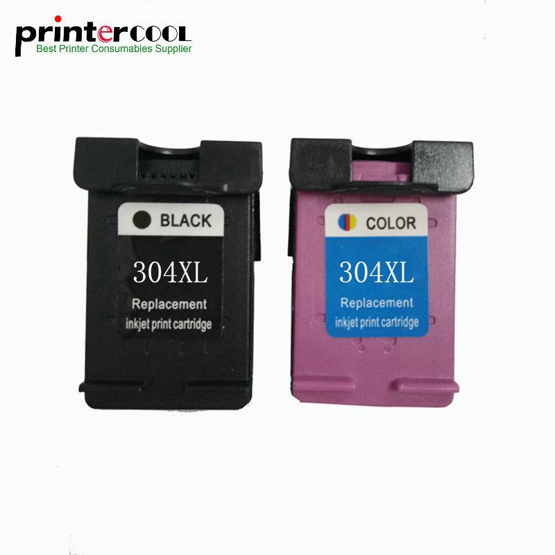 einkshop 304 xl Black and Color Remanufactured Ink Cartridge Compatible for HP hp 304xl Deskjet 3700