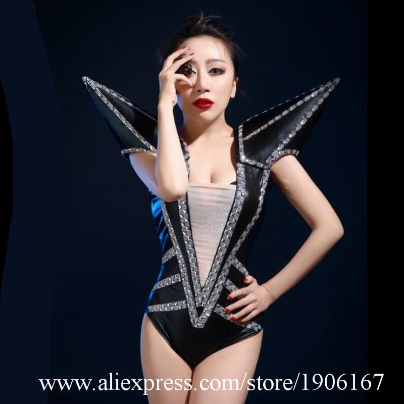 Sexy dame plume robe de soirée danseuse chanteuse fille dame femmes Costumes avec chapeaux scène Performance vêtements
