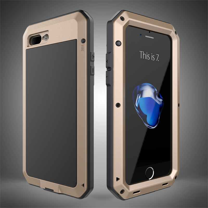 HTB1GSY6eSBYBeNjy0Feq6znmFXaQ Heavy Duty Protection Doom armor Metal Aluminum phone Case for iPhone 11 Pro Max XR XS MAX 6 6S 7 8 Plus X 5S 5 Shockproof Cover