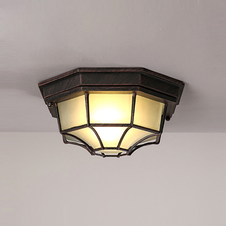 ФОТО Modern Brief Vintage American Industrial Glass led Ceiling Light Balcony Kitchen Hallway Corridor Home Decor Lighting Fixture