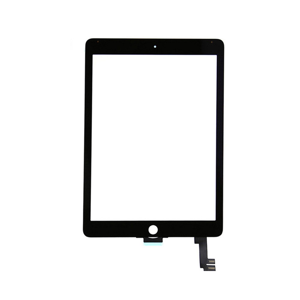 ФОТО For Apple Air 2 touch panel Black / White Touch Screen Glass Digitizer Replacement parts for iPad Air 2