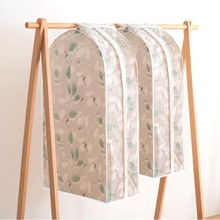 Home Dress Clothes Hanging Storage Bags Garment Suit Cover Bag Dustproof Protector Organizador