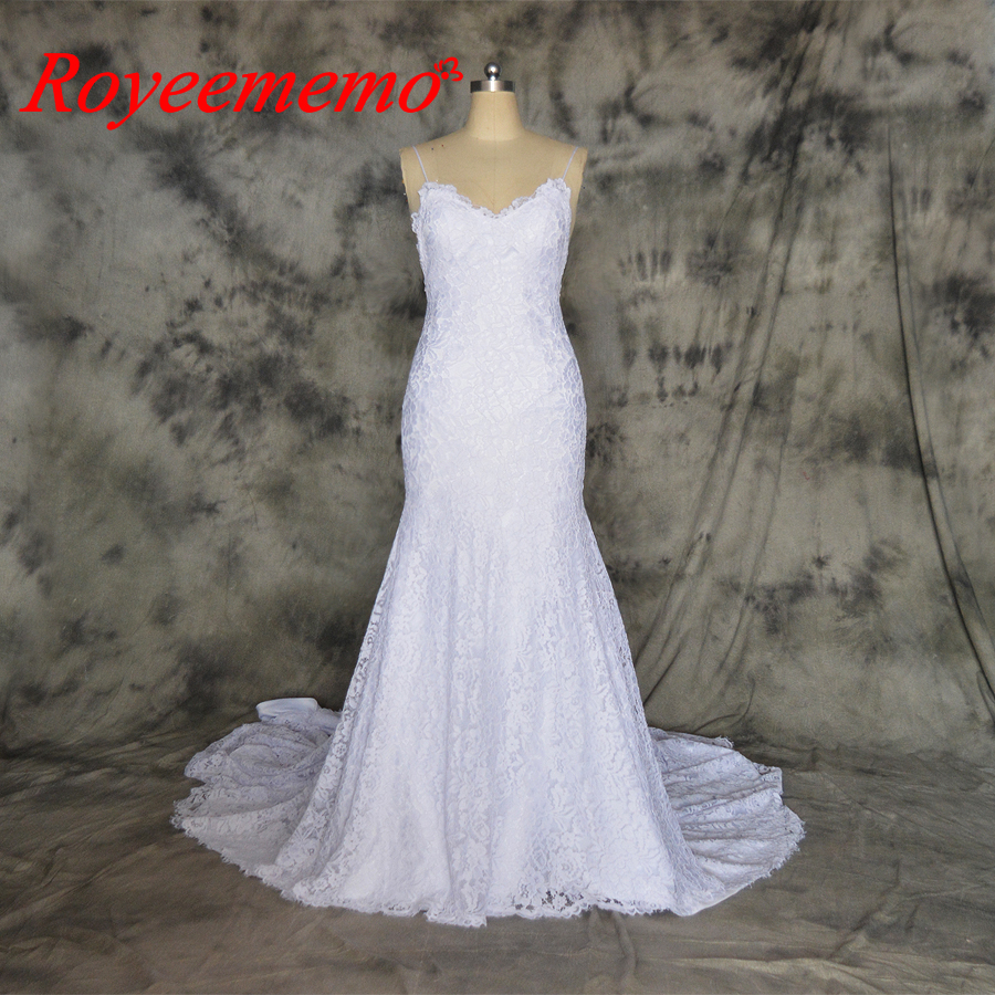 a554e2fcdf2 hot sale lace Wedding Dress mermaid classic style Bridal gown off the shoulder  wedding gown factory