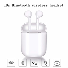 i9s tws Bluetooth Wireless Earphones Portable sports Earbuds Wireless Headsets 5.0 Bluetooth Earbuds For xiaomi iPhone earphone цена