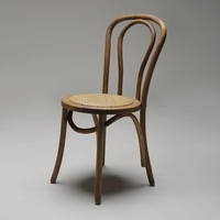 Solid Wood Dining Chair American Style Retro Creative Dining Chair Nordic Minimalist Hotel Coffee Shop Designer