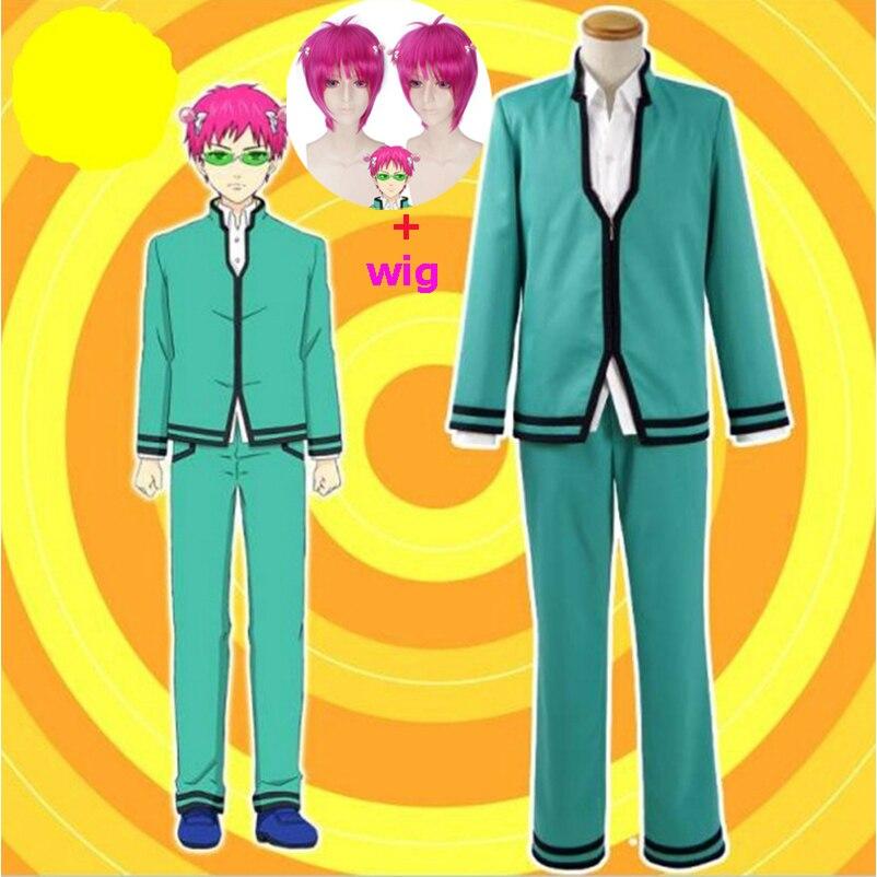 Disfraz de Saiki Kusuo no Psi Nan, el desastroso uniforme de la vida k-nan, para Halloween, bonito vestido para niñas, novedad de 2019