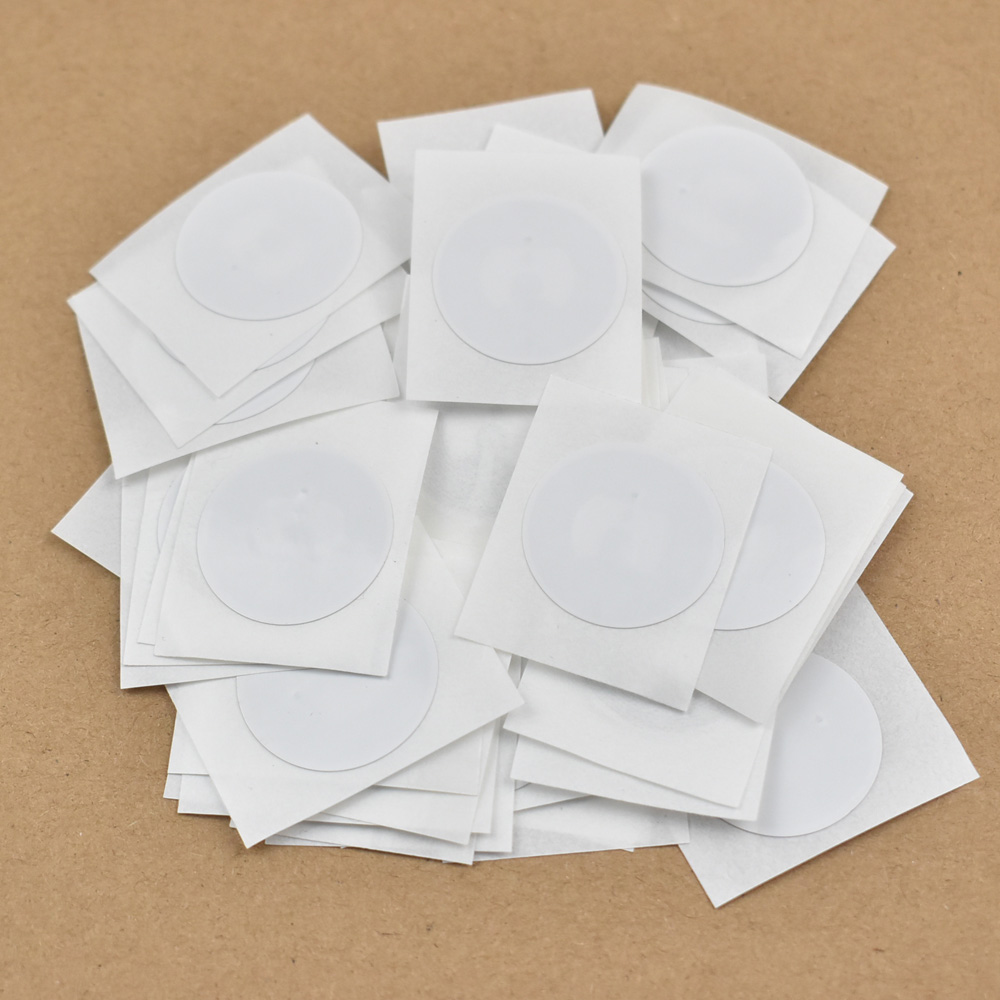 50pcs NTAG215 NFC TAG NFC Forum Type 2 Tag All NFC Phone Available NFC Adhesive Labels Dia.25mm